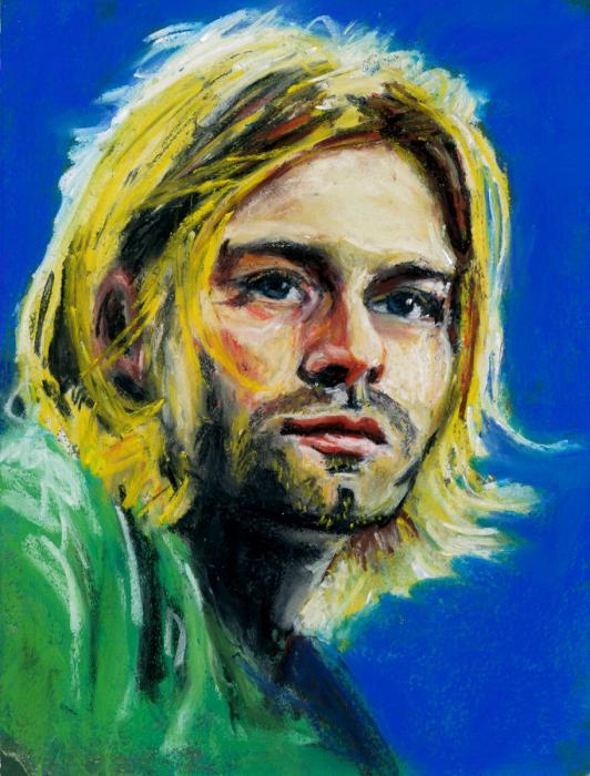 Kurt Cobain por maximuslevrai